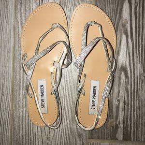 Steve Madden — Wedding Sandals — Size 6